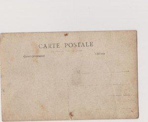 verso d'une photo entre 1880 et 1925