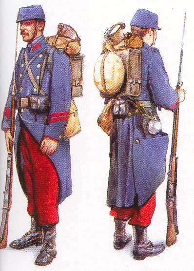 soldat francais 1914